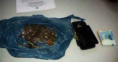 Homem é preso com 15 papelotes de maconha no Parque Sanharol, em Imperatriz