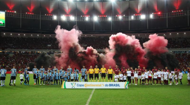 Flamengo vence Grêmio e vai às semifinais da Copa do Brasil