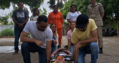 Servidores da Justiça de Barreirinhas participam de treinamento de primeiros-socorros