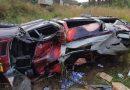 Acidente com van do cantor Wesley Safadão deixa um ferido na BR-316 no MA