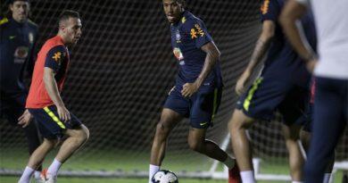 Seleção treina na Fonte Nova visando partida contra Venezuela