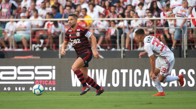 Flamengo e São Paulo ficam no empate em jogo eletrizante ...