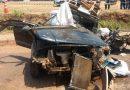 Colisão frontal entre caminhão e automóvel deixa um morto e um ferido na BR-010