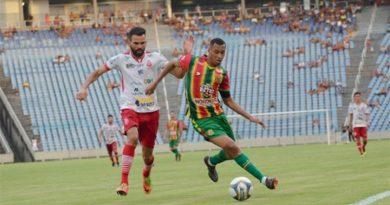 Rayllan faz o gol da vitória e classificação do Imperatriz contra o Sampaio para quartas da Série C