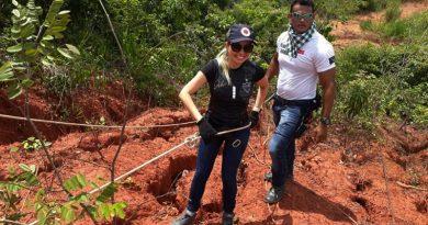 Socorristas do SAMU participam curso resgate de pacientes na ponte Dom Gregory