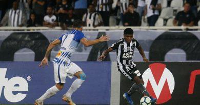 Botafogo vence o Avaí e se afasta da zona do rebaixamento
