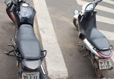 PM apreende duas motos com sinais de adulteração e prende três pessoas em Imperatriz