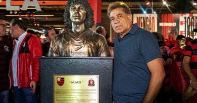 Flamengo comemora 124 anos nesta sexta-feira; Nunes ganha busto