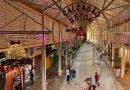 Calçadão da Avenida Getúlio Vargas ganha cobertura e decoração natalina