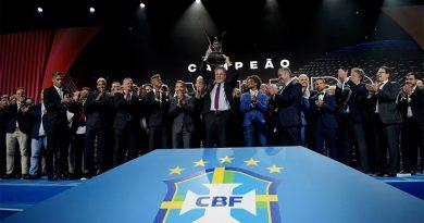 Flamengo domina premiação do Brasileirão 2019