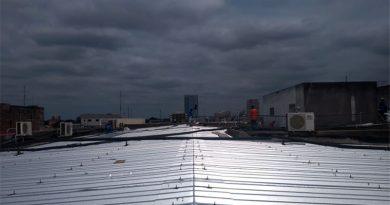 Reformado telhado do Hospital Socorrão, em Imperatriz