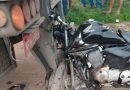 Motociclista não habilitado morre ao colidir em traseira de caminhão, BR-135
