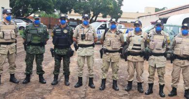 """PM realiza """"Operação Covid-19"""" na Região do Bico do Papagaio, no Tocantins"""