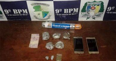 Acusado de roubo de motos em Imperatriz é preso com droga no Tocantins