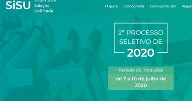 Inscrições para o Sisu 2020.2 terminam nesta sexta-feira